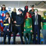 SDUIS Staff at Halloween