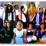 Staff at 2008 Halloween Party