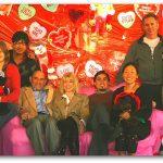 TEachers at Valentines event